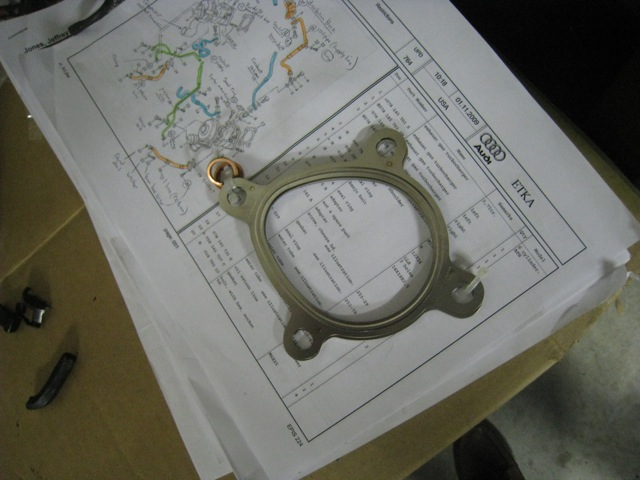 Turbocharger to Downpipe gasket