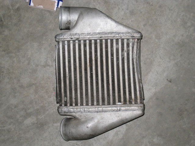 RS4 intercooler driver's side front