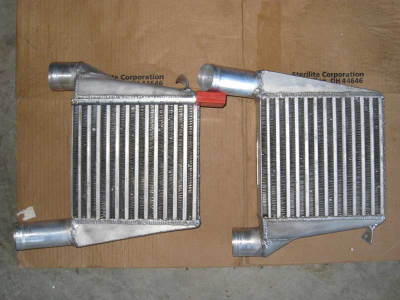 Silly Rabbit Motorsport intercoolers