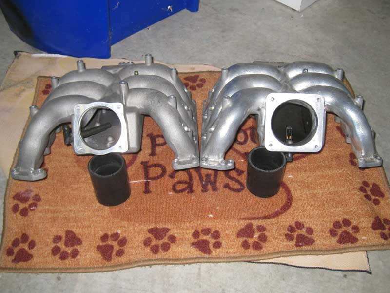 RS4 intake manifold comparison one