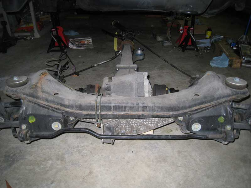 Subframe looking forward