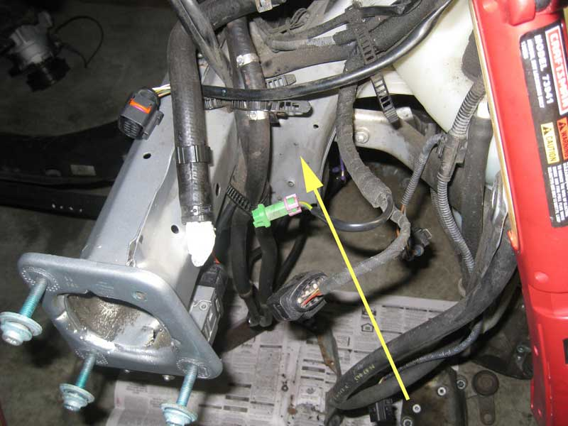 Audi B5 S4 Stock intercooler bracket removal
