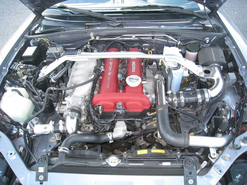 Mazdaspeed Miata MX-5 Engine Compartment