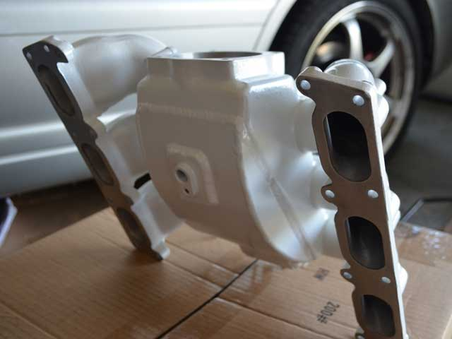 Project:B5 Modified RS4 Intake Manifold