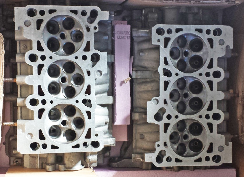 Audi B5 RS4 Cylinder Heads boxed up