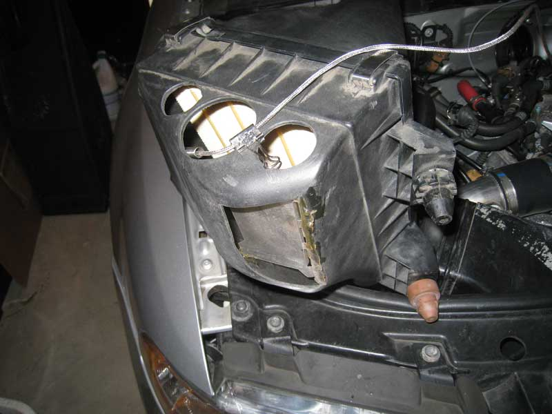 """Darintake"" modified airbox"