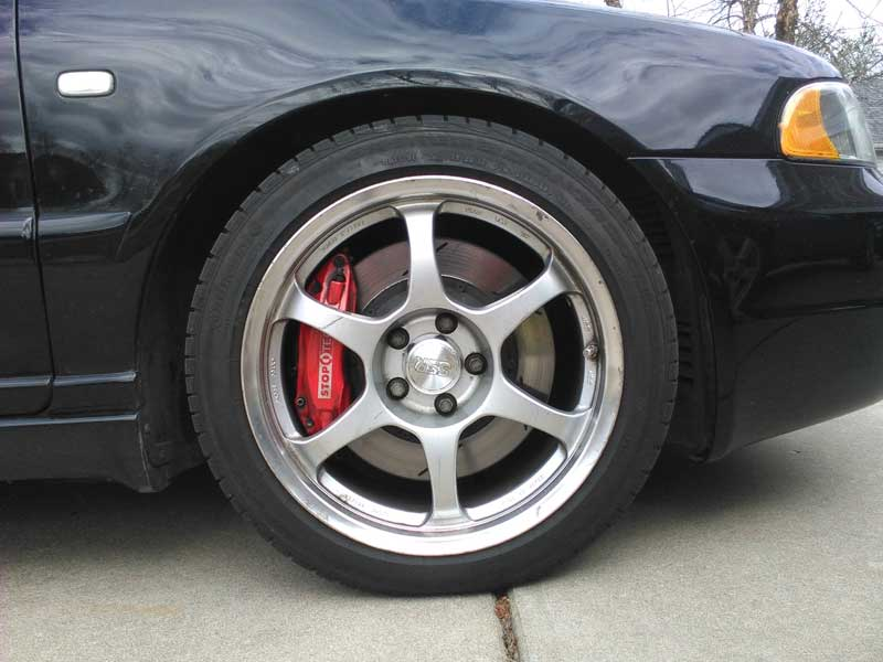 Avant with Stoptech 332 Big Brake Kit