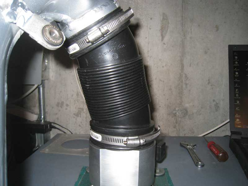 RS4 Accordion MAF Hose
