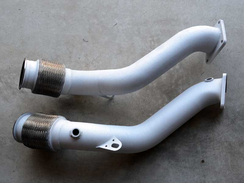 downpipes with swaintech coating