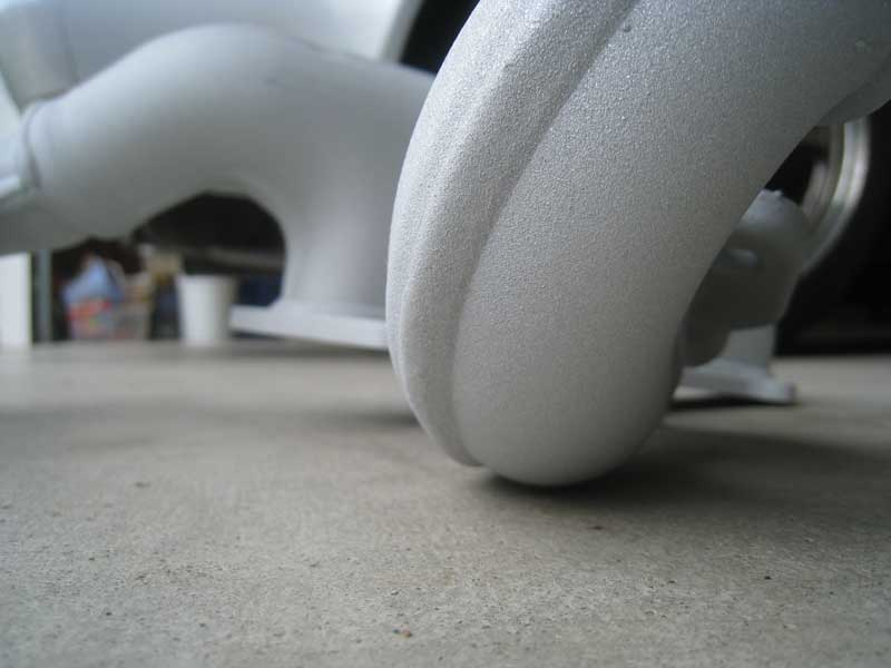 Swaintech coated exhaust manifold close up
