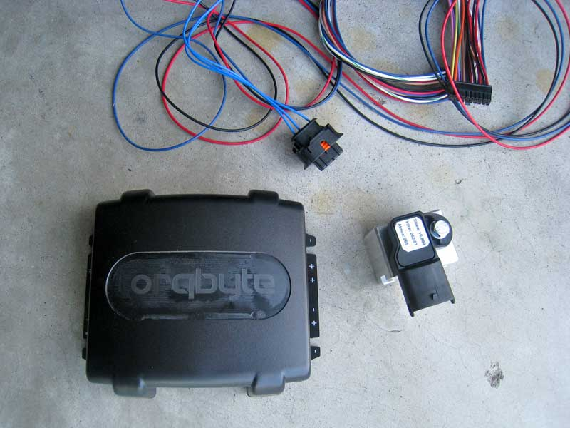 TorqByte Water-Methanol Injection Controller and MAP sensor