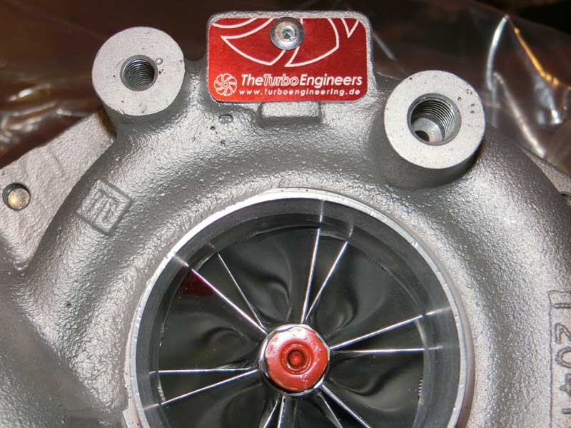 Picture of TTE 550 Compressor Housing and Wheel