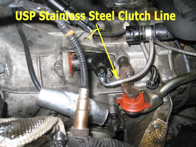 USP Stainless steel clutch line