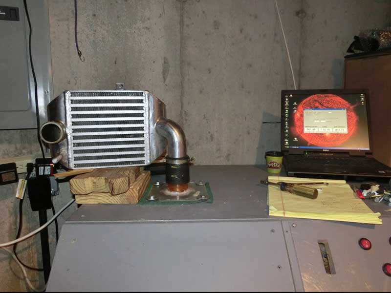 Picture of XS Power SMIC on flow bench
